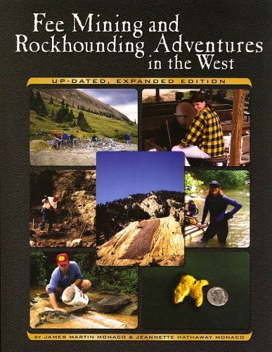 us topo - Fee Mining and Rockhounding Adventures in the West - Wide World Maps & MORE! - Book - Brand: Gem Guides Book Co - Wide World Maps & MORE!
