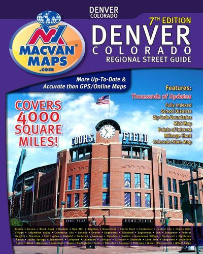 Denver Regional Street Guide & Atlas