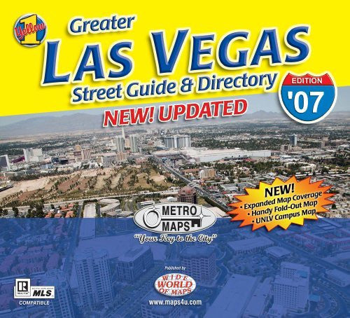 Greater Las Vegas Street Guide & Directory '07 Edition