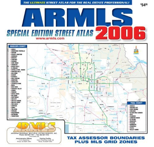 us topo - ARMLS Special Edition Street Atlas - Wide World Maps & MORE! - Book - Wide World Maps & MORE! - Wide World Maps & MORE!