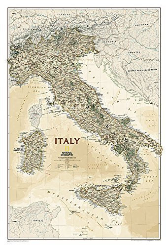 Italy Executive [Laminated] (National Geographic Reference Map) by National Geographic Maps - Reference (2016-05-16) - Wide World Maps & MORE! - Map - National Geographic Maps - Wide World Maps & MORE!