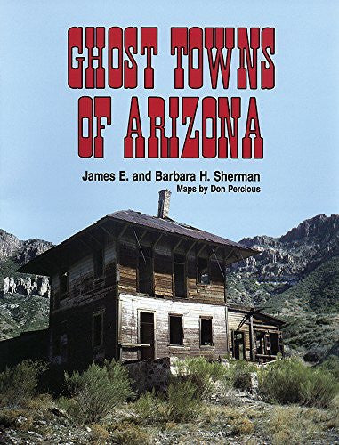 us topo - Ghost Towns of Arizona - Wide World Maps & MORE! - Book - Brand: University of Oklahoma Press - Wide World Maps & MORE!