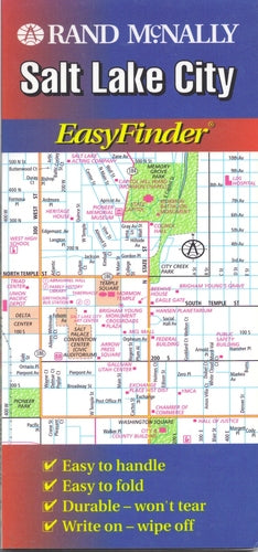 Rand McNally Easyfinder Salt Lake City, Utah - Wide World Maps & MORE! - Book - Wide World Maps & MORE! - Wide World Maps & MORE!