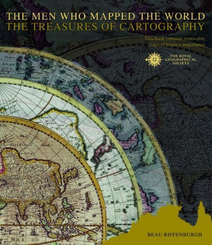 The Men Who Mapped the World: The Treasures of Cartography - Wide World Maps & MORE! - Book - Wide World Maps & MORE! - Wide World Maps & MORE!
