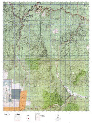us topo - Hunting Unit 22 (Western State Hunt Area Maps, AZ-22) - Wide World Maps & MORE! - Book - Wide World Maps & MORE! - Wide World Maps & MORE!
