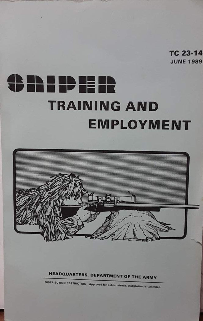 Sniper Training and Employment, June 1989
