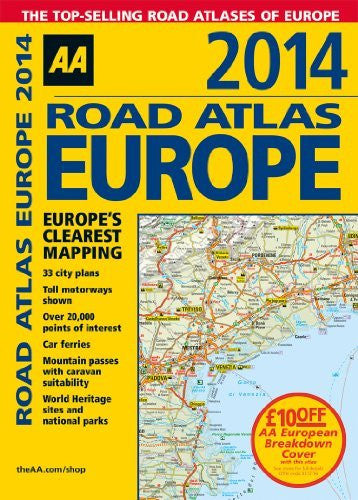 Road Atlas Europe 2014 (International Road Atlases)