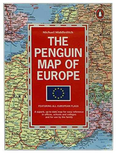 The Penguin Map of Europe - Wide World Maps & MORE! - Book - Wide World Maps & MORE! - Wide World Maps & MORE!