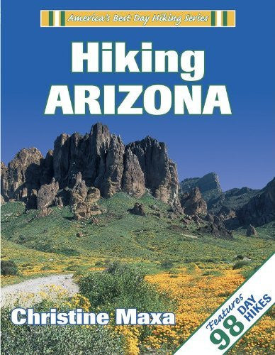 us topo - Hiking Arizona (America's Best Day Hiking Series, ) - Wide World Maps & MORE! - Book - Brand: Human Kinetics - Wide World Maps & MORE!