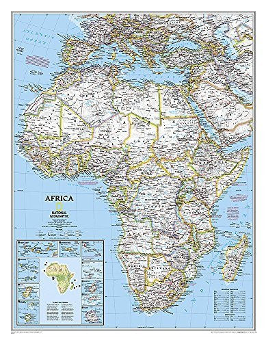 Africa Classic [Tubed] (National Geographic Reference Map)