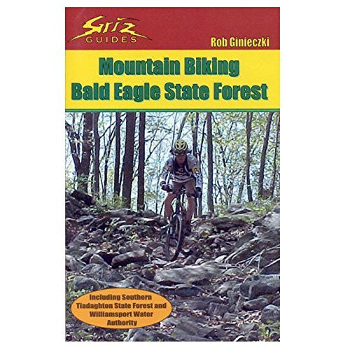 Mountain Biking Bald Eagle State Forest - Wide World Maps & MORE! - Book - Griz Guides - Wide World Maps & MORE!