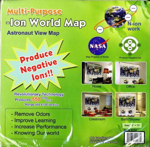 us topo - Astronaut View Map (Multi-Purpose -Ion World Map) - Wide World Maps & MORE! - Book - Wide World Maps & MORE! - Wide World Maps & MORE!