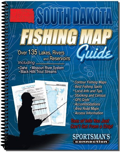 us topo - South Dakota Fishing Map Guide - Wide World Maps & MORE! - Sports - Sportsman's Connection - Wide World Maps & MORE!