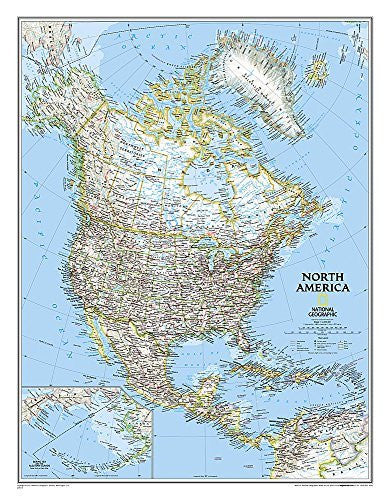 North America Classic [Laminated] (National Geographic Reference Map)