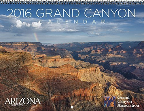 us topo - Arizona Highways 2016 Grand Canyon Calendar - Wide World Maps & MORE! - Book - arizona highways interlocking jigsaw puzzle - Wide World Maps & MORE!