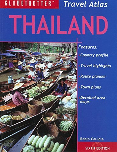 us topo - Thailand Travel Atlas (Globetrotter Travel Atlas) - Wide World Maps & MORE! - Book - Brand: Globetrotter - Wide World Maps & MORE!