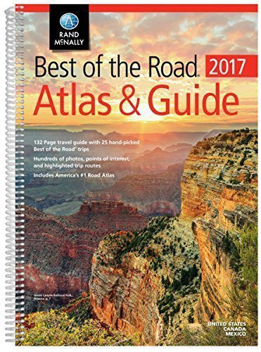 Rand McNally 2017 Best of the Road Atlas & Guide (Rand Mcnally Best of the Road Atlas & Guide) (Rand Mcnally Road Atlas and Travel Guide) by Rand McNally (2016-04-25)