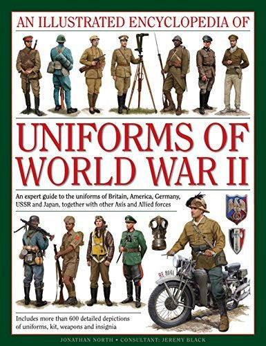 us topo - An Illustrated Encyclopedia of Uniforms of World War II: An Expert Guide To The Uniforms Of Britain, America, Germany, Ussr And Japan, Together With Other Axis And Allied Forces - Wide World Maps & MORE! - Book - Wide World Maps & MORE! - Wide World Maps & MORE!