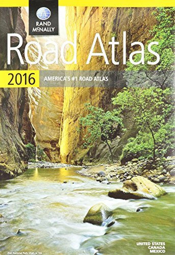 Rand Mcnally North American Road Atlas - North America - 10.88 Width X 15.38 Height