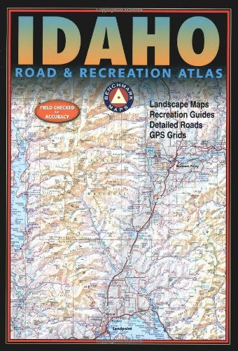 Benchmark Idaho Road & Recreation Atlas