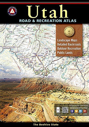 us topo - Benchmark Utah Road & Recreation Atlas, 6th Edition - Wide World Maps & MORE! - Book - Benchmark Maps - Wide World Maps & MORE!