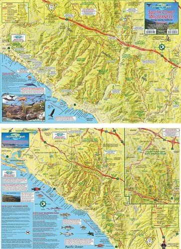 South Coast Wilderness Trails Map