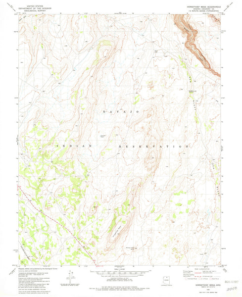 us topo - HORSETHIEF MESA, Arizona (7.5'×7.5' Topographic Quadrangle) - Wide World Maps & MORE! - Map - Wide World Maps & MORE! - Wide World Maps & MORE!