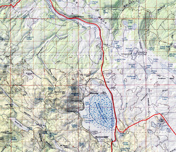 Topographic Map Game.Arizona Game Management Unit 6a 100k Scale Topographic Hunting Maps