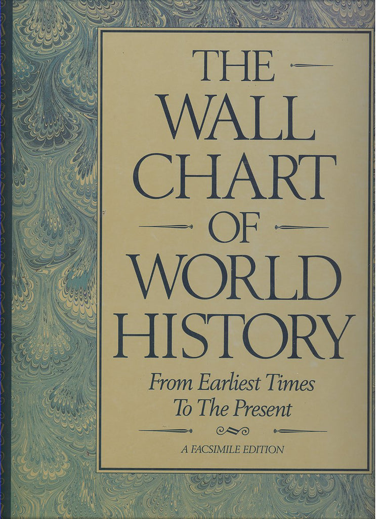 The Wall Chart of World History: From Earliest Times To The Present - Wide World Maps & MORE! - Book - Dorset Press - Wide World Maps & MORE!