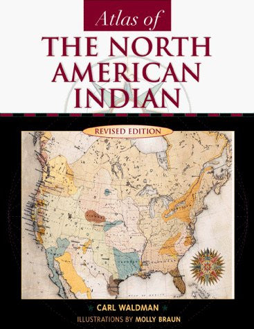 us topo - Atlas of the North American Indian, Revised Edition - Wide World Maps & MORE! - Book - Brand: Checkmark Books - Wide World Maps & MORE!