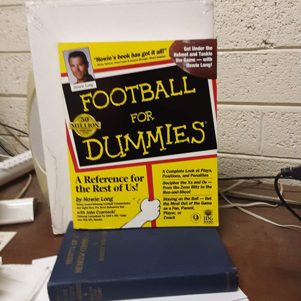Football for Dummies. a Complete Look at Plays, Positions, and Penalties... - Wide World Maps & MORE! - Book - Wide World Maps & MORE! - Wide World Maps & MORE!
