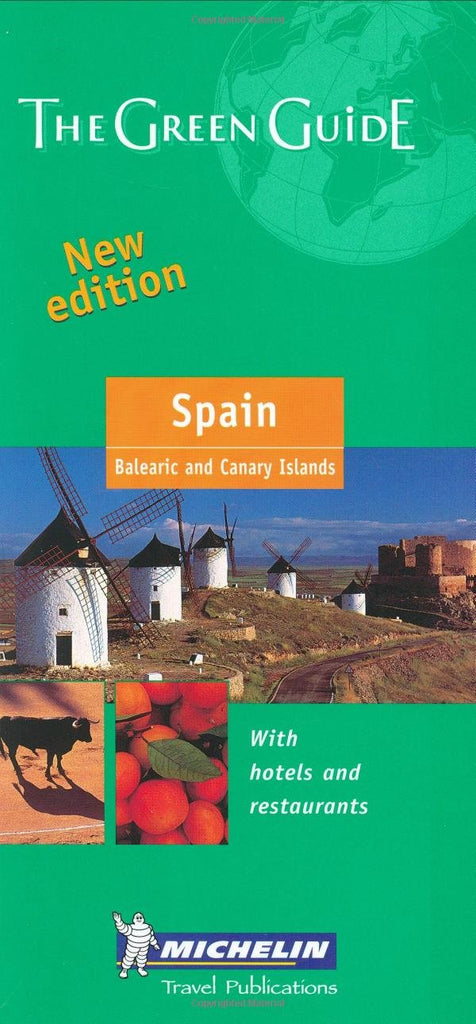 Michelin The Green Guide Spain (Michelin Green Guides) - Wide World Maps & MORE! - Book - Wide World Maps & MORE! - Wide World Maps & MORE!
