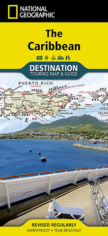 Caribbean (National Geographic Destination Map)