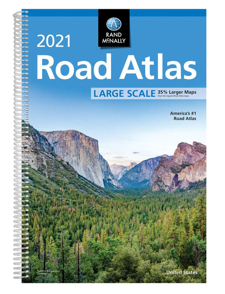 Rand McNally 2021 Large Scale Road Atlas - Wide World Maps & MORE!