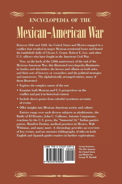 Encyclopedia of the Mexican-American War - Wide World Maps & MORE! - Book - Brand: ABC-CLIO - Wide World Maps & MORE!