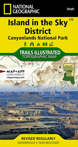 Island in the Sky District: Canyonlands National Park (National Geographic Trails Illustrated Map, 310)
