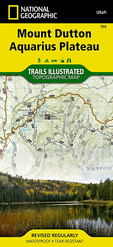 Mount Dutton, Aquarius Plateau (National Geographic Trails Illustrated Map, 705) - Wide World Maps & MORE! - Book - National Geographic Maps - Wide World Maps & MORE!