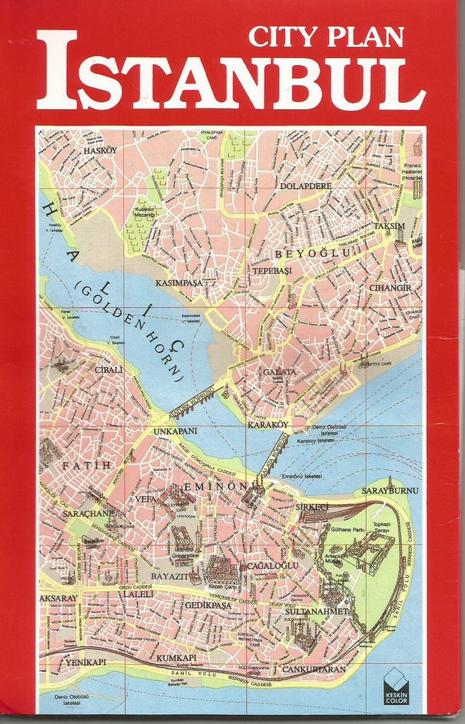 City Plan ISTANBUL - Wide World Maps & MORE! - Book - Wide World Maps & MORE! - Wide World Maps & MORE!