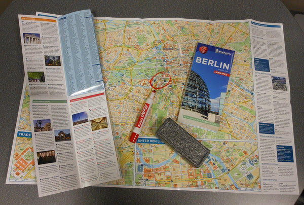 Michelin Berlin City Map - Laminated (Michelin Map)