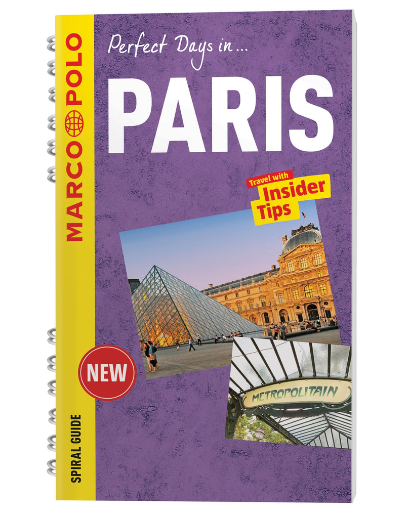 Paris Marco Polo Spiral Guide (Marco Polo Spiral Guides) - Wide World Maps & MORE! - Book - Wide World Maps & MORE! - Wide World Maps & MORE!