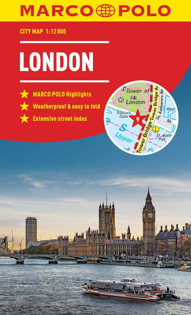 London Marco Polo City Map - Wide World Maps & MORE! - Map - Marco Polo Travel Publishing - Wide World Maps & MORE!