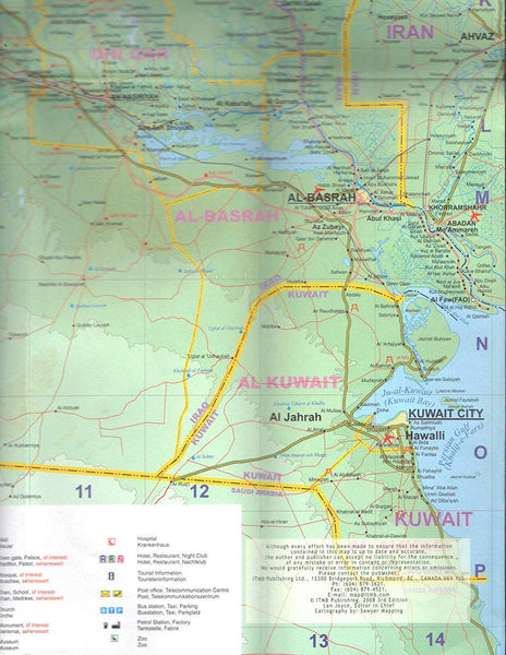 Iraq (International Travel Maps) - Wide World Maps & MORE! - Map - ITMB Publishing - Wide World Maps & MORE!