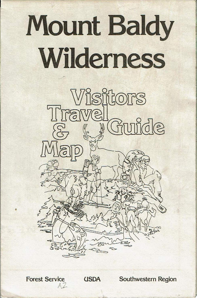 Mount Baldy Wilderness Visitors Travel Guide & Map