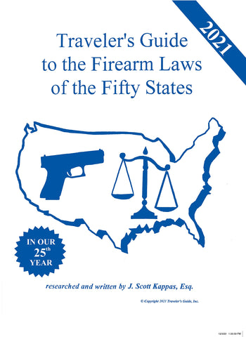 2021 Traveler's Guide to the Firearm Laws of the Fifty States - Wide World Maps & MORE! - Book - Traveler's Guide - Wide World Maps & MORE!