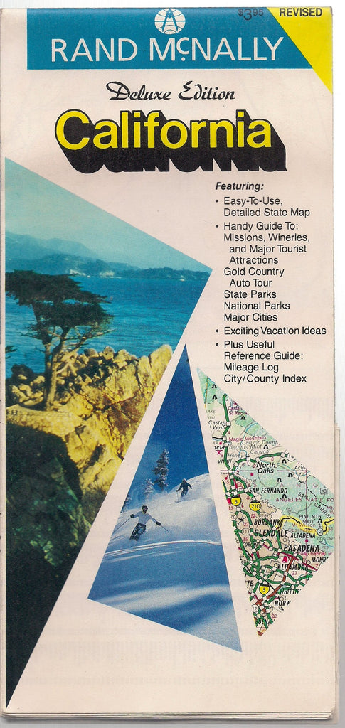 California: Rand McNally Deluxe Maps (25) - Wide World Maps & MORE! - Book - Wide World Maps & MORE! - Wide World Maps & MORE!