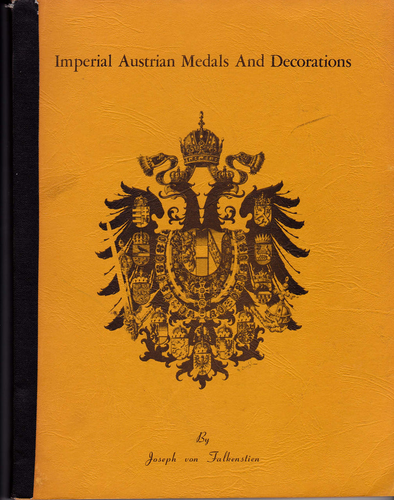 Imperial Austrian Medals and Decorations - Wide World Maps & MORE! - Book - Wide World Maps & MORE! - Wide World Maps & MORE!