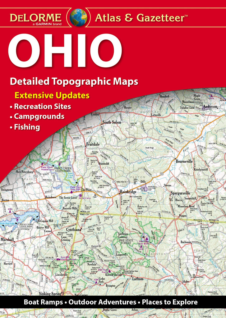DeLorme Ohio Atlas & Gazetteer - Wide World Maps & MORE! - Map - DeLorme Mapping Company - Wide World Maps & MORE!