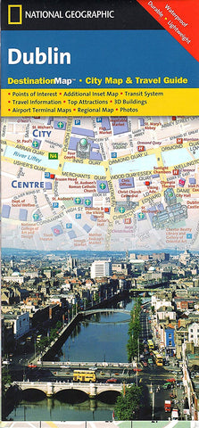 National Geographic Maps Dublin Map
