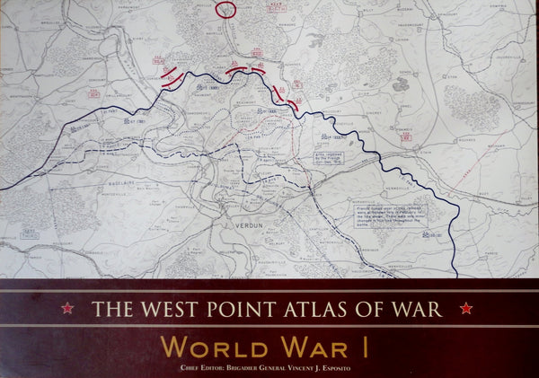The West Point Atlas of War, World War I - Wide World Maps & MORE! - Book - Tess Press/black Dog - Wide World Maps & MORE!