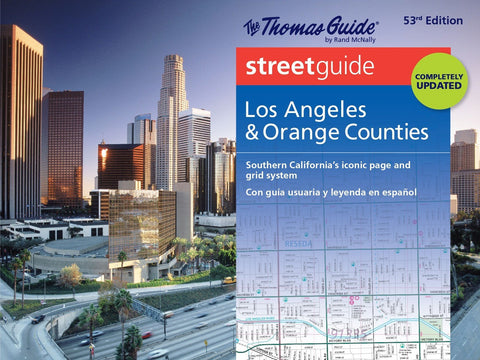 Thomas Guide Streetguide Los Angeles & Orange County: Southern California's Iconic Page and Grid System/ con guia usuaria y leyenda en espanol (English and Spanish Edition)